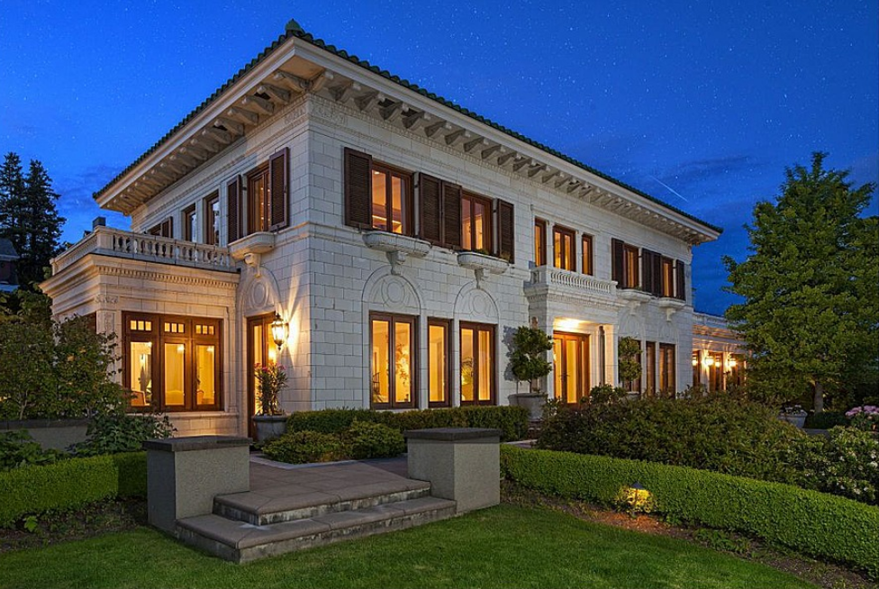 11 5 million beautifully restored 1933 mansion in seattle for Seattle house plans