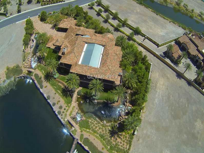 Lakefront Mansion In Henderson, NV With Huge Indoor Swimming Pool