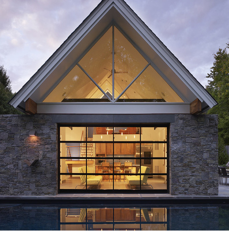 A Look At Some Pool Houses From Houzz.com