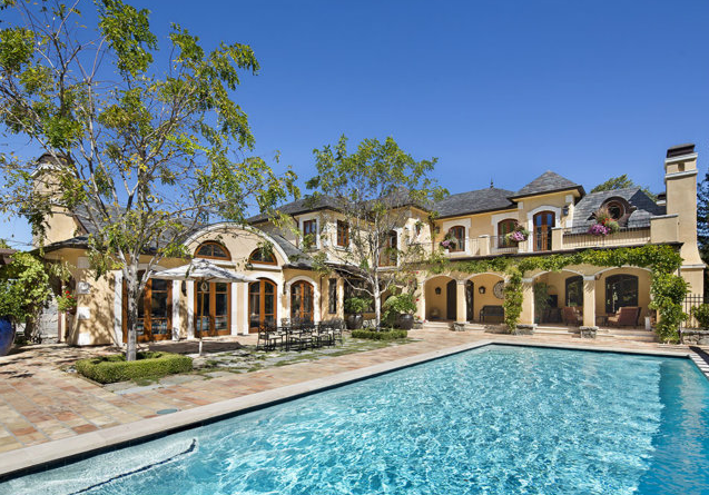 Newly Listed 10,000 Square Foot French Provincial Style Mansion In Saratoga, CA