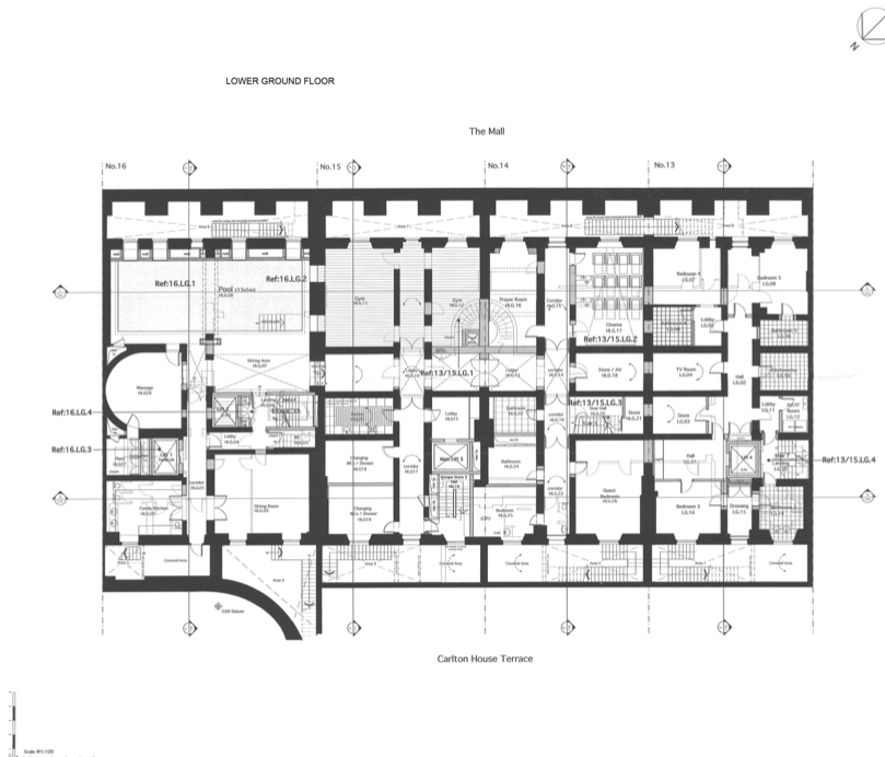 England House Floor Plan on 4 bedroom house plans with walkout bat