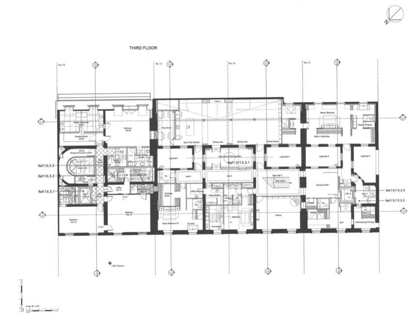 Beach House Floor Plan