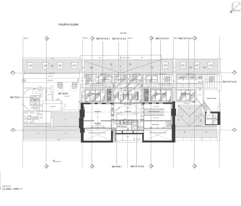 Floor Plans To 13-16 Carlton House Terrace In London, England