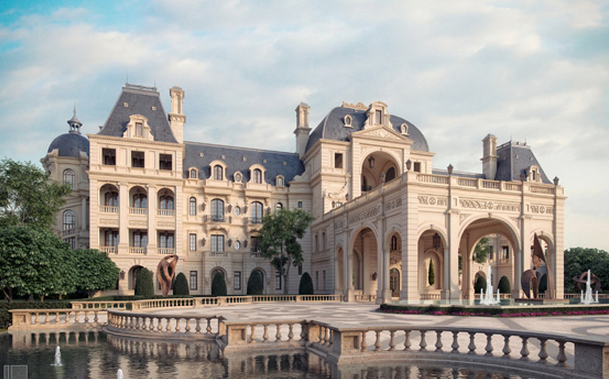 Proposed Landry Designed Mega French Chateau Confirmed To