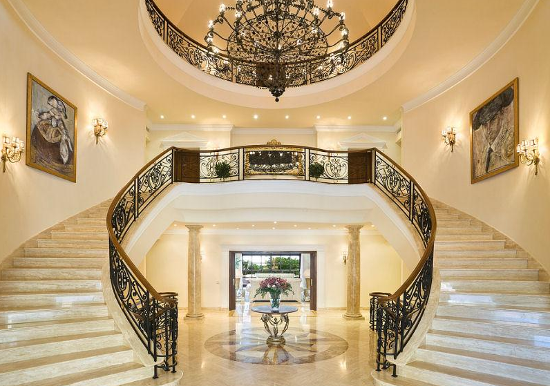Poll which grand double marble staircase do you prefer for Luxury staircases