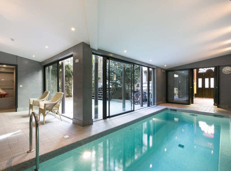 9 3 Million Townhouse In Paris France With Indoor Pool