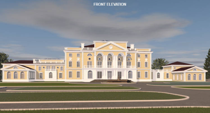 A hotr reader s 50 000 square foot mega mansion design for 50000 house