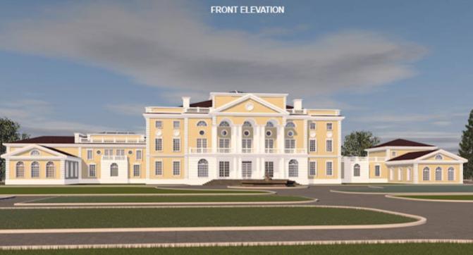 A hotr reader s 50 000 square foot mega mansion design for 50000 house