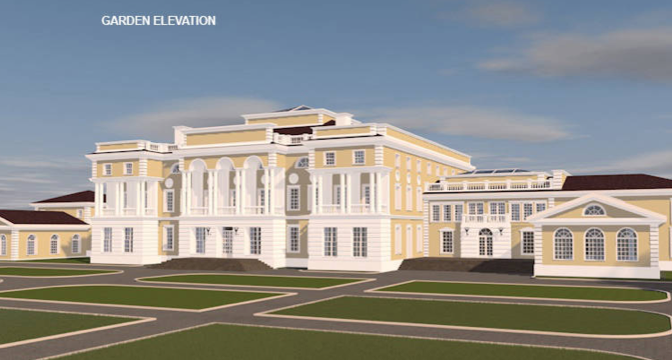 Delicieux Check Out HOTR Reader Anna Ou0027s AMAZING Mega Mansion Design! She Used  ArchiCAD For Design And Cinema 4D Studio For Rendering. It Consists Of  Nearly 50,000 ...