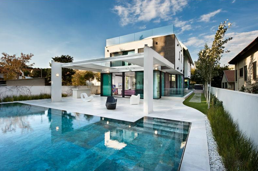 Israel homes of the rich Modern house company