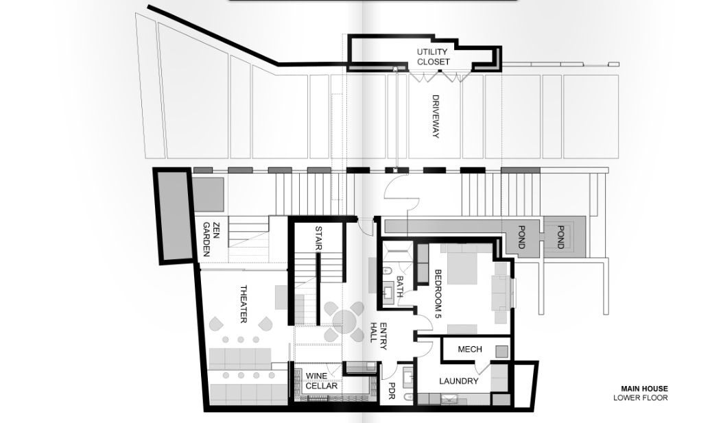 Floor Plans To 1201 Laurel Way In Beverly Hills, CA | Homes of the Rich