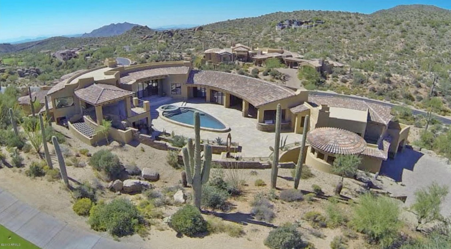 $4.75 Million Newly Built Tuscan Contemporary Mansion In Scottsdale, AZ