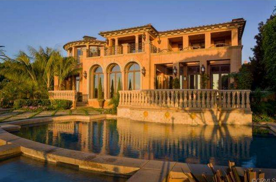 $12.499 Million Tuscan Inspired Mansion In Newport Coast, CA