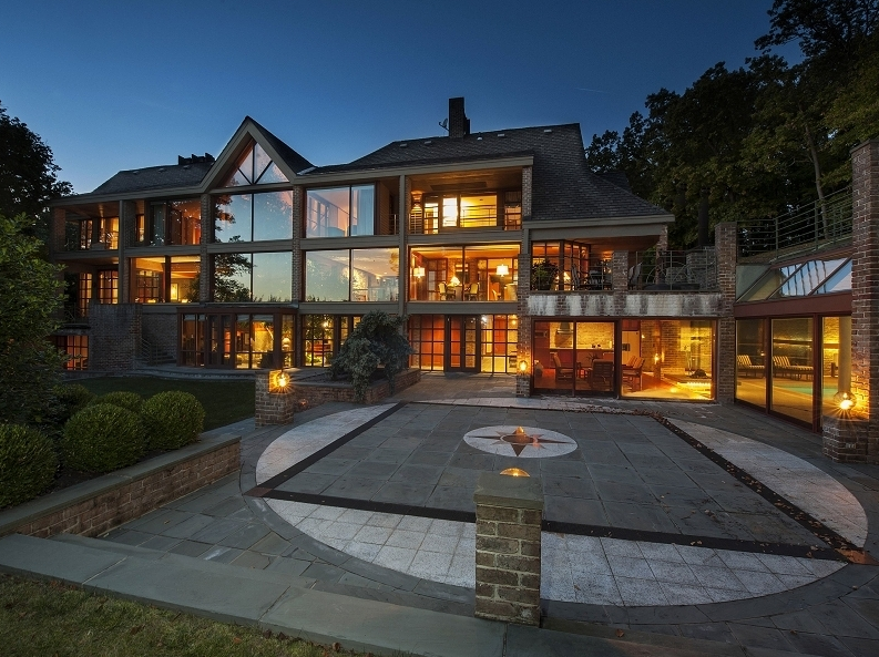 $4.75 Million Architectural Beauty In Far Hills Boro, NJ With Indoor Pool
