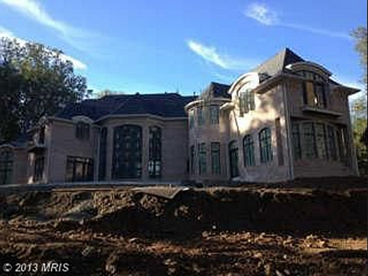 14,500 Square Foot Mansion Under Construction In Great Falls, VA