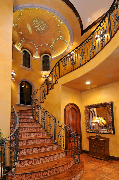 6 5 Million Mediterranean Mansion In Paradise Valley Az