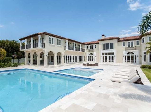 17,000 Square Foot Mediterranean Mansion In Coral Gables, FL