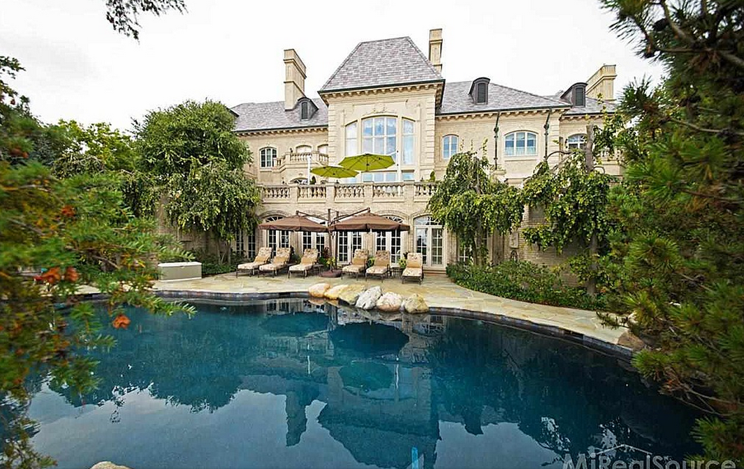 28 000 Square Foot Waterfront French Chateau In Grosse