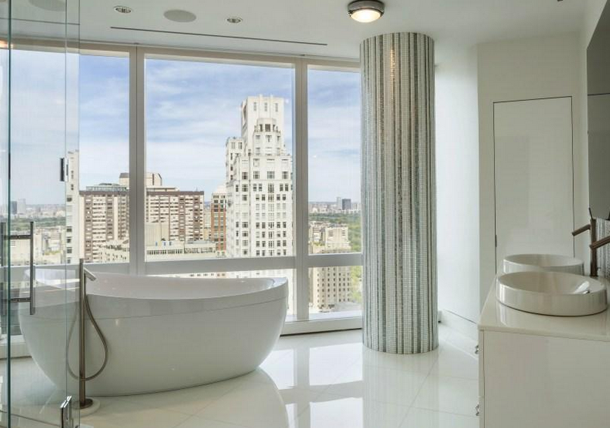 50 million duplex condo in the time warner building in for 10 columbus circle 4th floor new york ny 10019
