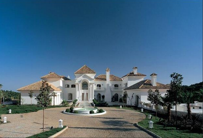 31 000 Square Foot Mega Mansion In Marbella Spain Homes