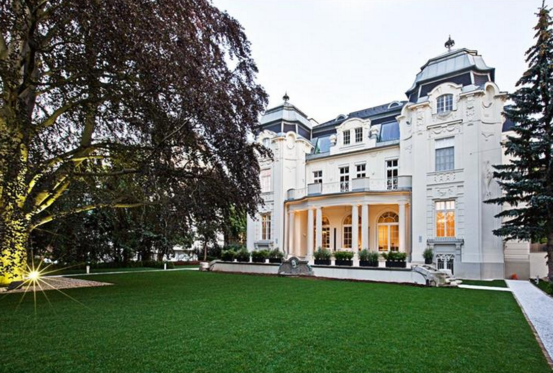 14 000 Square Foot Historic Mansion In Vienna Austria