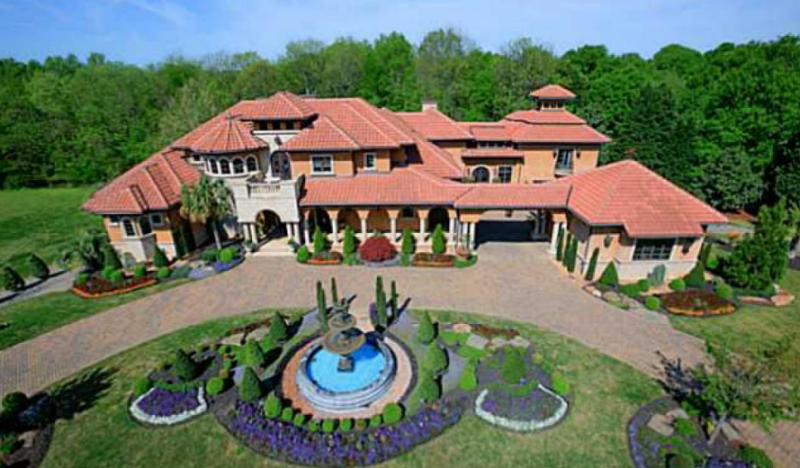 12 000 Square Foot Mediterranean Style Mansion In