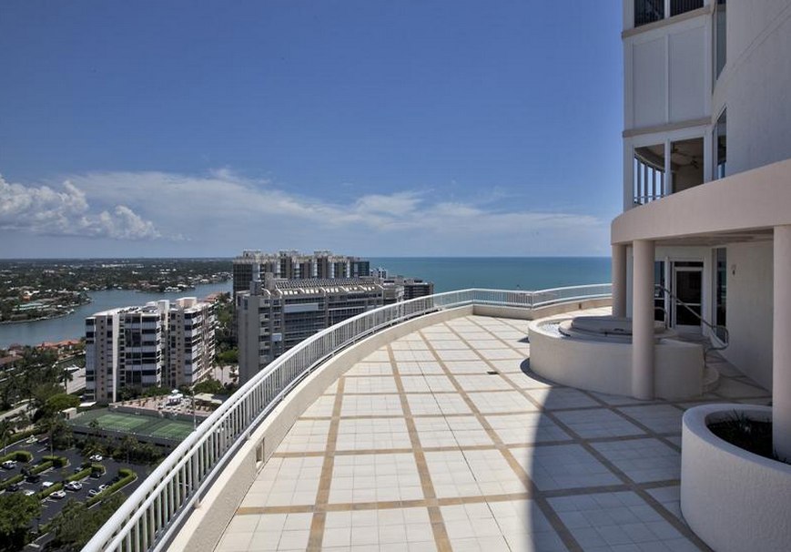 16,000 Square Foot Penthouse In Naples, FL