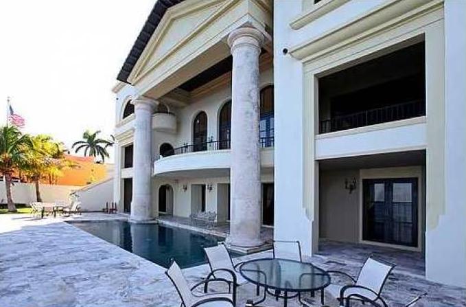 $13.9 Million Newly Listed Mediterranean Waterfront Mansion In Miami, FL