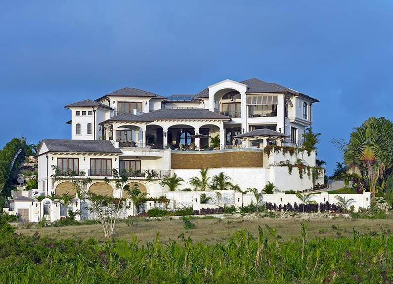 Serenity a stunning newly built villa in barbados Beautiful homes com