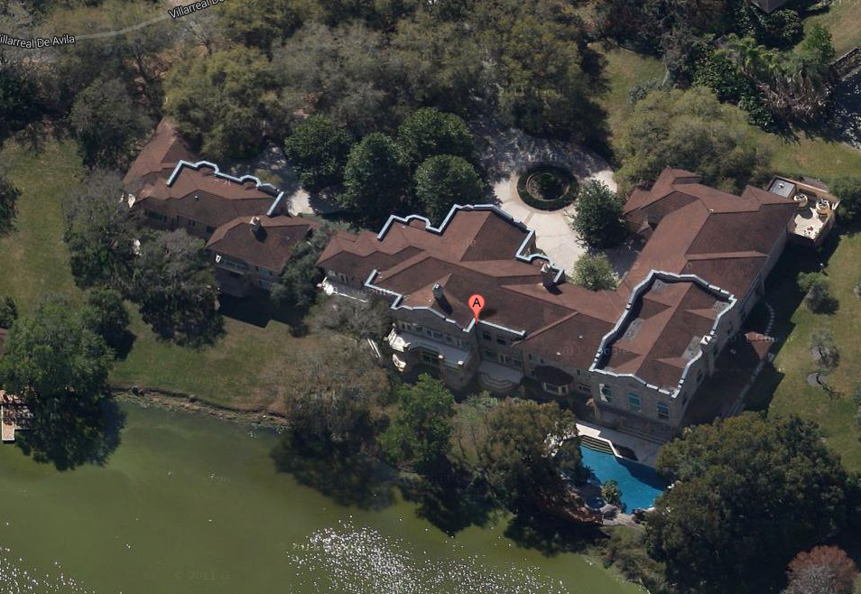28,000 Square Foot Lakefront Mega Mansion In Tampa, FL