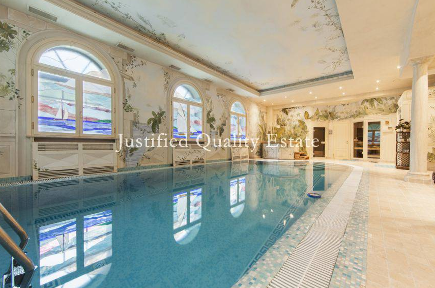$20 Million Newly Listed Mansion In Moscow, Russia