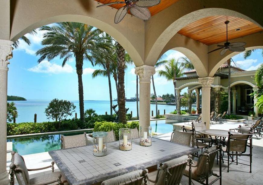 12 95 Million Waterfont Mansion In Marco Island Fl