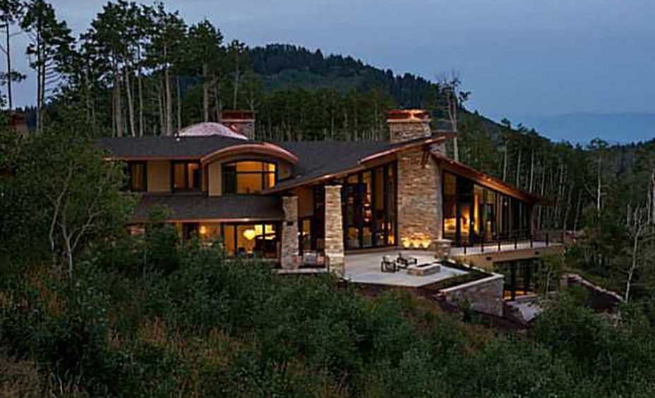 Newly Built Contemporary Mansion In Park City, UT