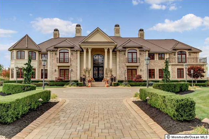 Lavish 17 000 Square Foot Mansion In Colts Neck Nj