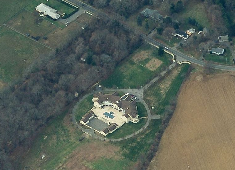 19,000 Square Foot 33 Room Mansion In Colts Neck, NJ