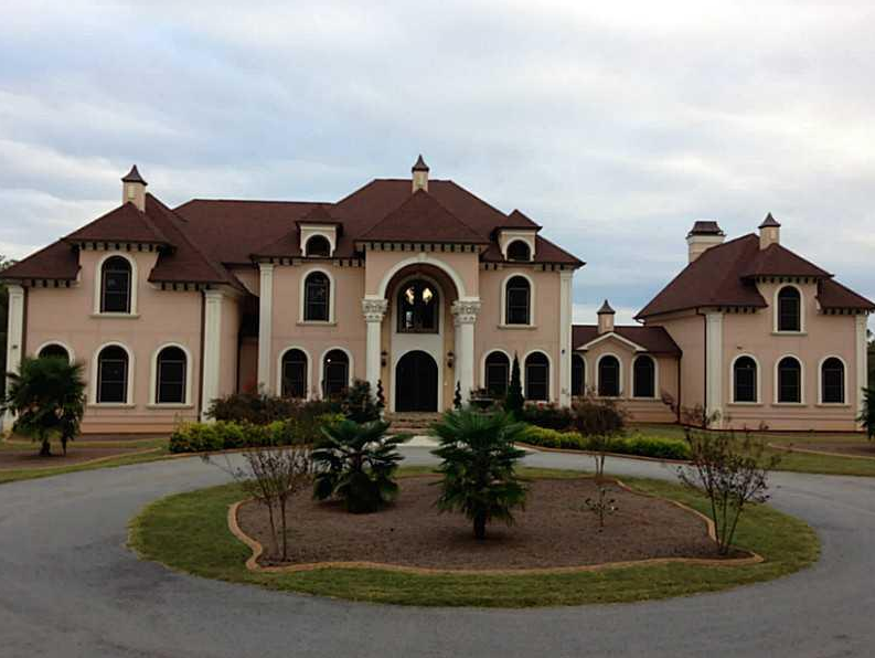 17 000 Square Foot Lakefront Mansion In Villa Rica Ga