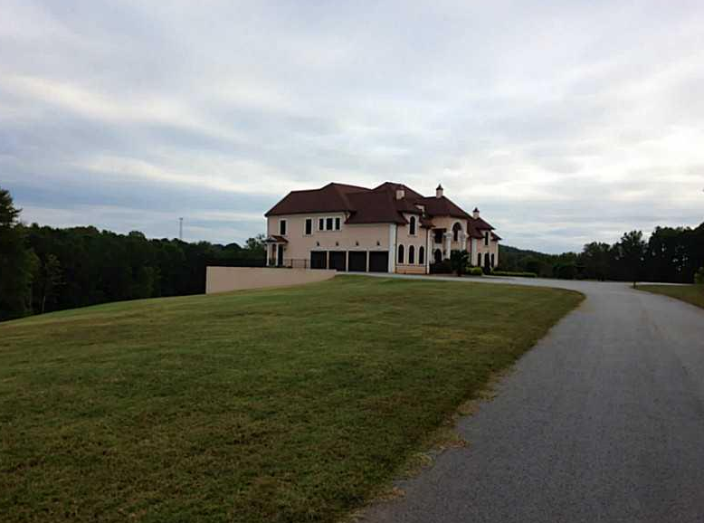 17 000 Square Foot Lakefront Mansion In Villa Rica Ga