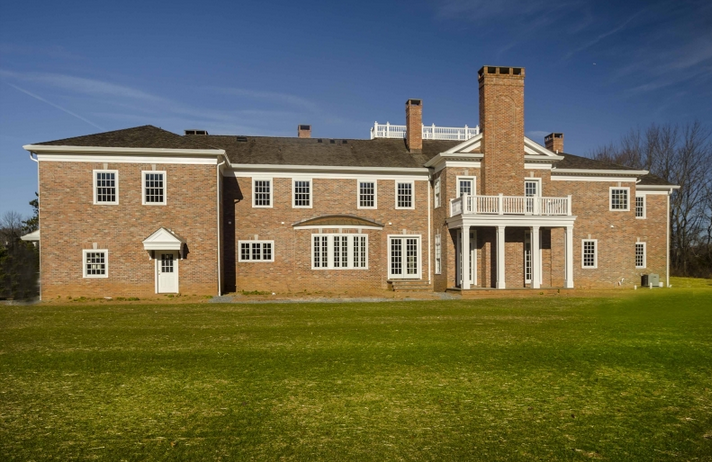 $5.988 Million Newly Built Brick Colonial Mansion In Harding Township, NJ
