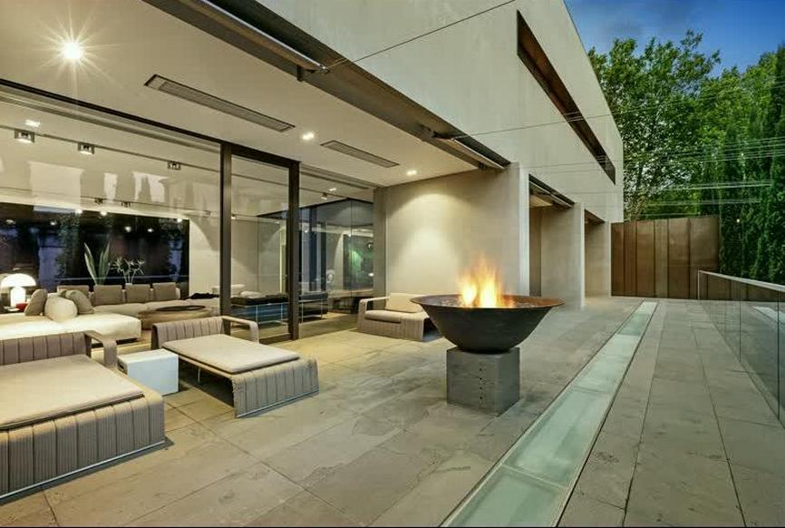 13,000 Square Foot Contemporary Mansion In Toorak, Australia