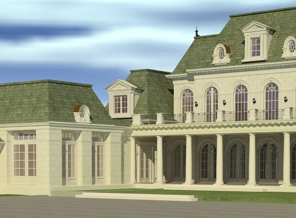 27,000 Square Foot Unfinished Mansion In Toronto, Canada