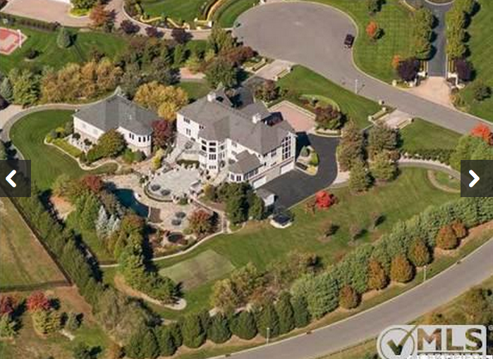 $3.45 Million Estate In Morganville, NJ With Sports Building