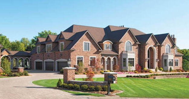 32 000 square foot newly built mega mansion in canfield for Mega homes for sale