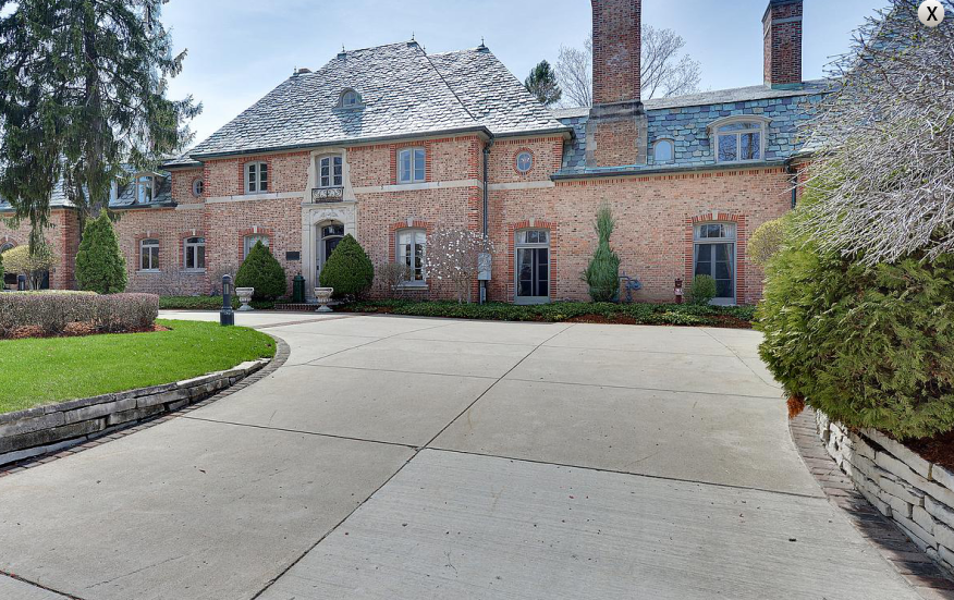15 000 Square Foot Historic French Country Mansion In