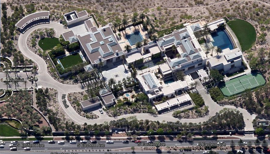Updated Aerial Pics Of Ebay Founder's Henderson, NV Mega Compound