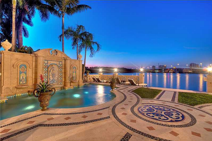 $7.9 Million Waterfront Mansion In Sunny Isles Beach, FL