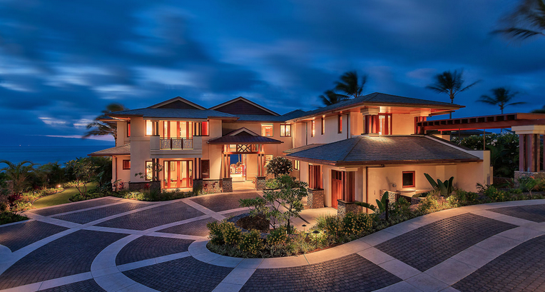 20 8 Million Newly Built Beachfront Home In Hawaii Homes Of The Rich