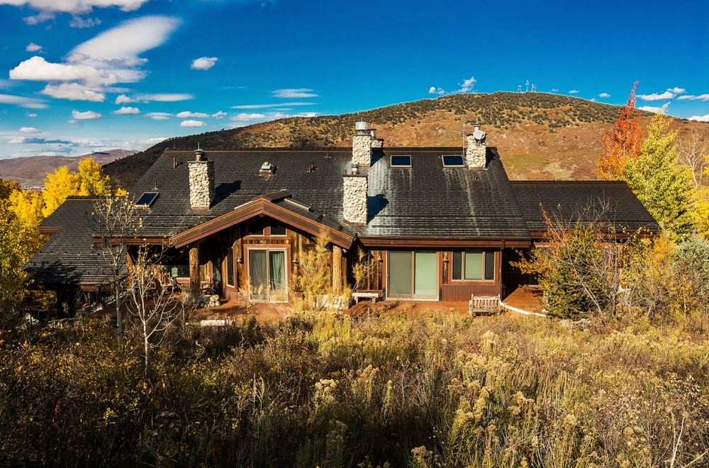 $9 Million Mountaintop Contemporary Mansion In Park City, UT