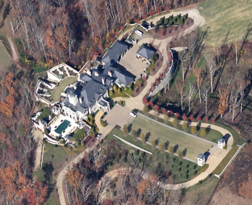 Updated Aerial Pics Of One Of Tennessee S Largest Homes Homes Of The Rich