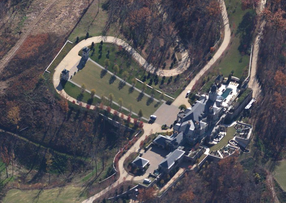 Updated Aerial Pics Of One Of Tennessee's Largest Homes