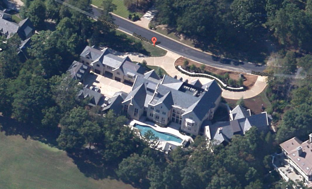 Updated Aerial Pics Of The Largest Home In The Country Club Of The South